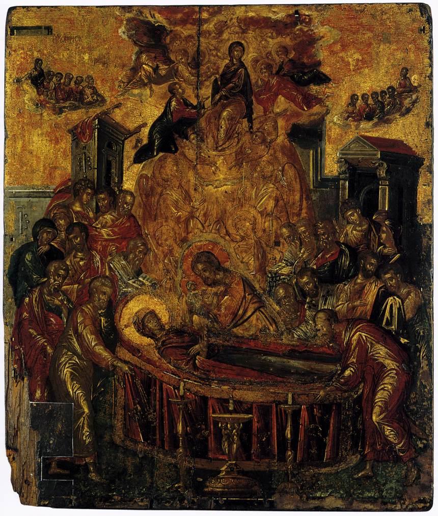 Η Κοίμηση της Θεοτόκου των Ψαριανών, περ. 1567
