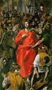 El Greco: EL Espolio