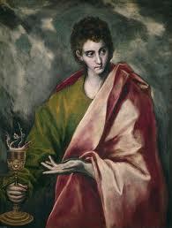 El Greco: Άγιος Ιωάννης ο Ευαγγελιστής