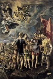 El Greco: Το Μαρτύριο του Αγίου Μαυρικίου