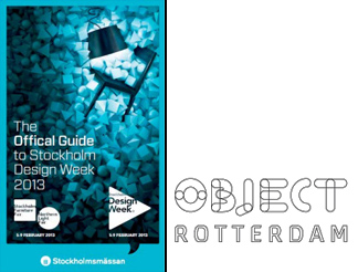 Design week στη Στοκχόλμη και έκθεση Object Rotterdam