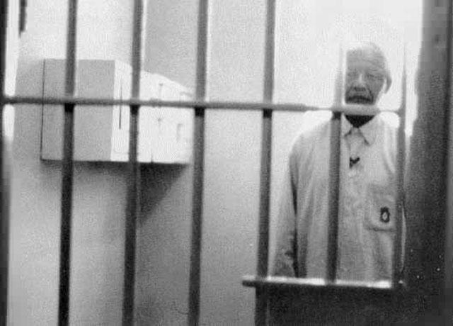 Ο Νέλσον Μαντέλα στη φυλακή