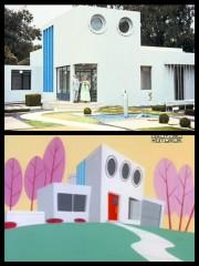 Το σπίτι των Powerpuff Girls εμπνεύστηκε από την Villa Arpel