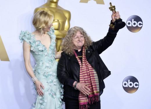 Η Jenny Beaven και η Cate Blanchett στα Oscar 2016