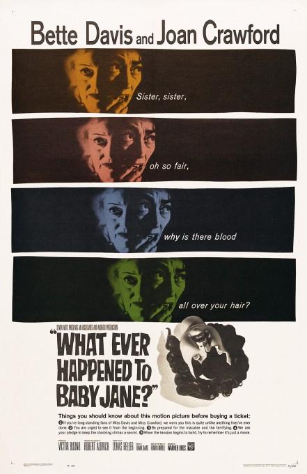 Τι απέγινε η Μπειμπι Τζέην- Αφίσα της ταινίας του 1962