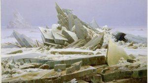 Caspar David Friedrich, θάλασσα από πάγο, Ο χειμώνας ως έργο τέχνης