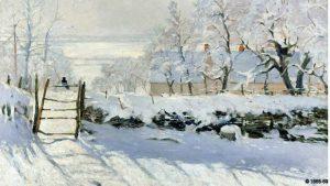 Κλωντ Μονέ, η κίσσα, 1868-9, Ο χειμώνας ως έργο τέχνης