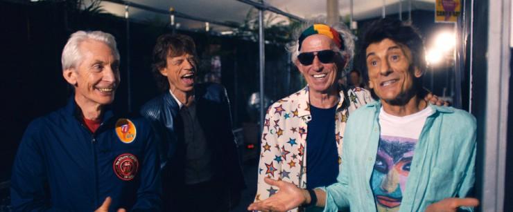 Rolling Stones πίσω από της σκηνή