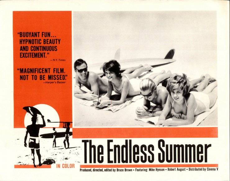 The endless summer, Bruce Brown Documentary