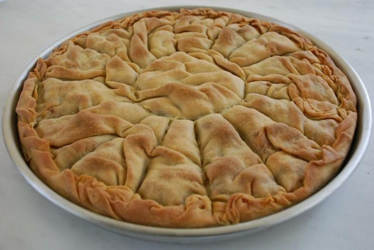 Συμπόσιο Γαστρονομίας, παραδοσιακή πίτα