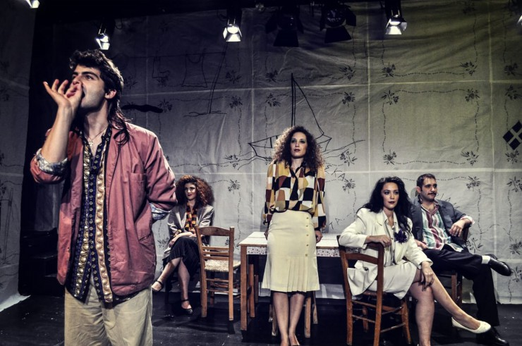 Ο Μουνής - Σκηνή από την παράσταση